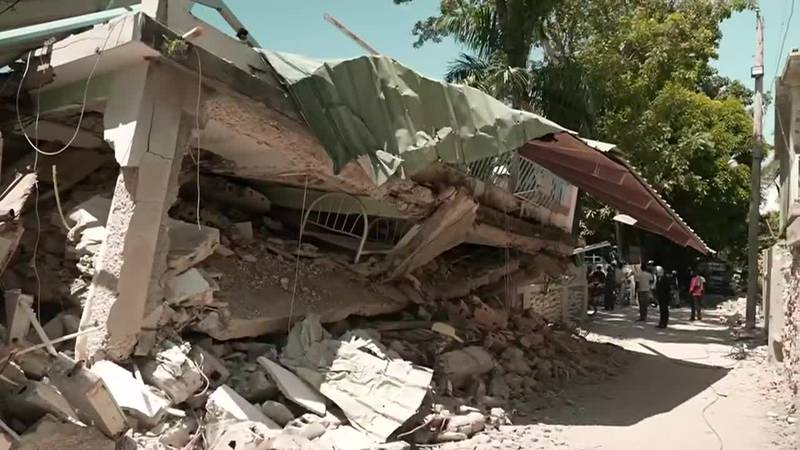 Search and rescue efforts continue in Haiti following a 7.2-magnitude earthquake, now the...