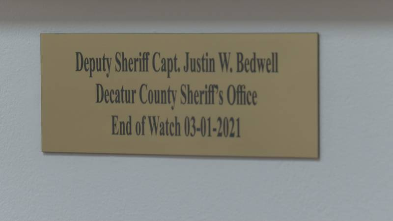Two months after Decatur County Sheriff's Office's Captain Justin Bedwell's death, the...