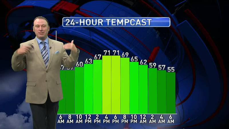Meteorologist Rob Nucatola gives you the forecast for Thursday, May 13, 2021.