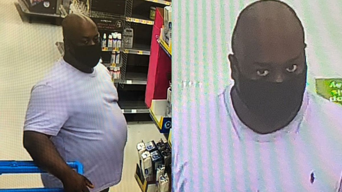 The Jackson County Sheriff's Office says it is looking for a man who inappropriately touched a woman and exposed himself at the Walmart in Marianna on August 5.