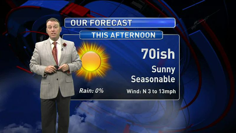 Meteorologist Rob Nucatola gives you the forecast for Thursday, March 4, 2021.