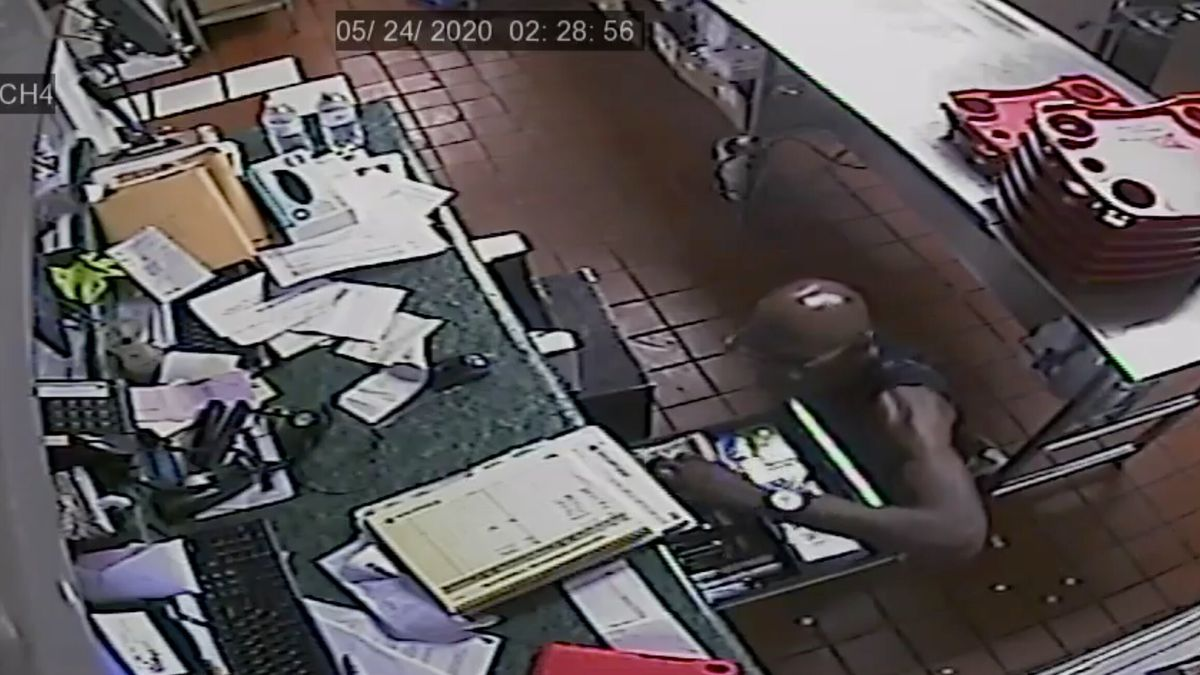 The Tallahassee Police Department has released surveillance video of a burglary at a Sonic from Sunday, May 24. (Photo: TPD)