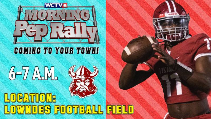 The latest edition of the Morning Pep Rally was the biggest one yet, as Lowndes High School's...