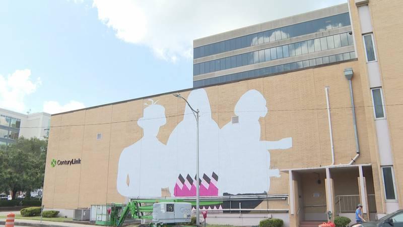 Project Daring Mural