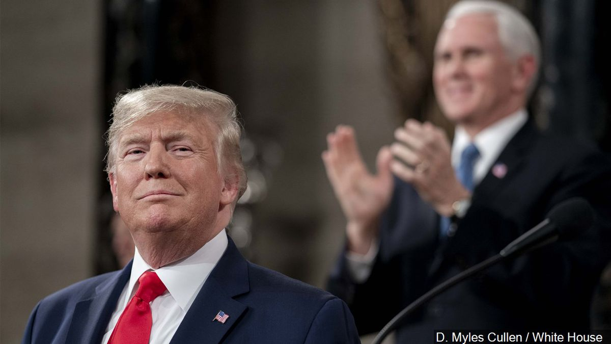 President Donald J. Trump delivers his State of the Union speech., Photo Date: 2/4/2020 |...