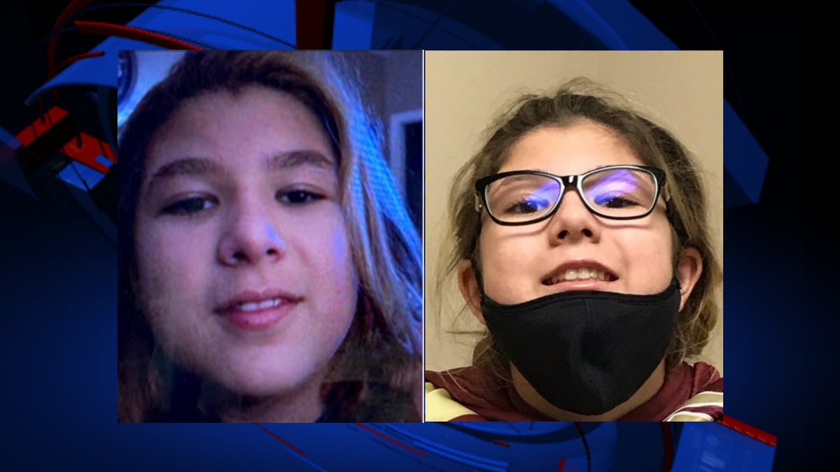 Nevaeh Kenyon pictured above was last seen on Wessex Court in Tallahassee
