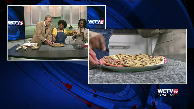 The mastermind behind Barb's Brittles showcased this tasty twist on chocolate chip cookies...