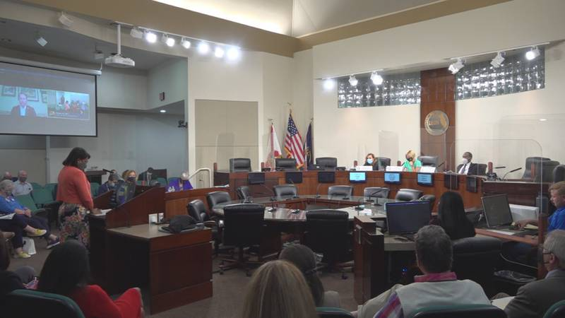 Leon County's four-person delegation met Monday night, hearing from the public as they form...