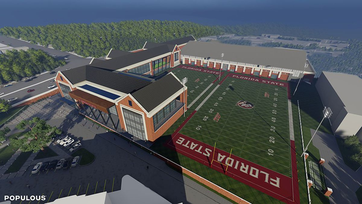 Florida State released renderings of its proposed football only facility on Wednesday.