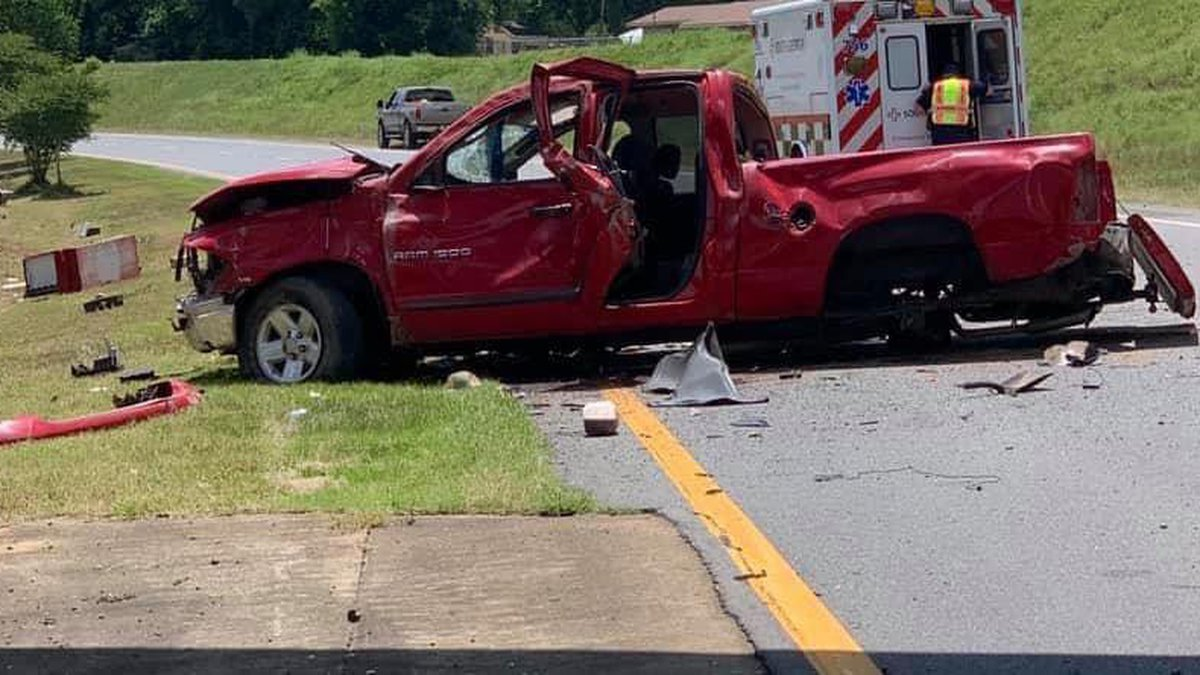 An afternoon roll-over wreck involving a truck blocked lanes of traffic for over an hour on the...