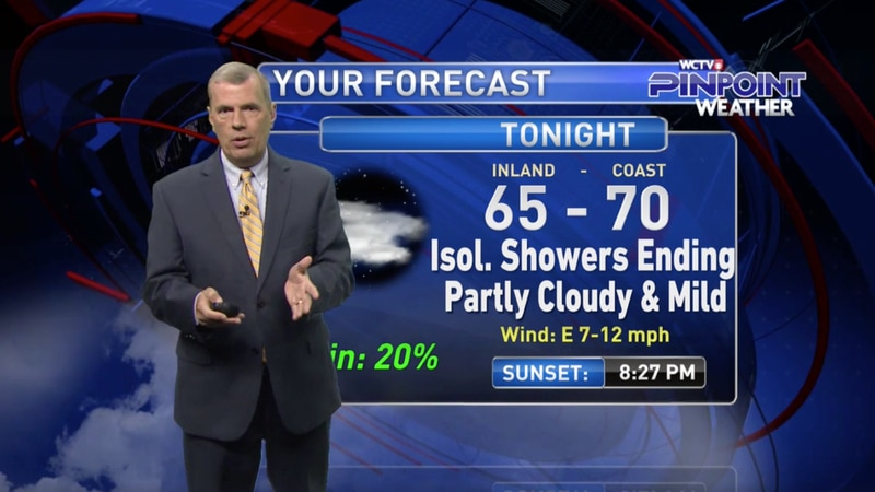 Chief Meteorologist Mike McCall takes a look at the forecast for your evening of Wednesday, May...