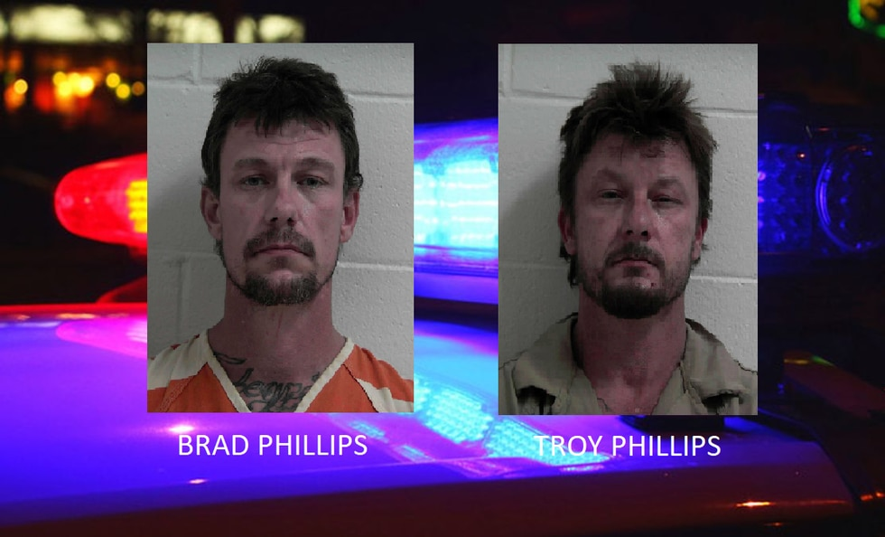 Brad and Troy Phillips were arrested in connection with a deputy-involved shooting Saturday in...