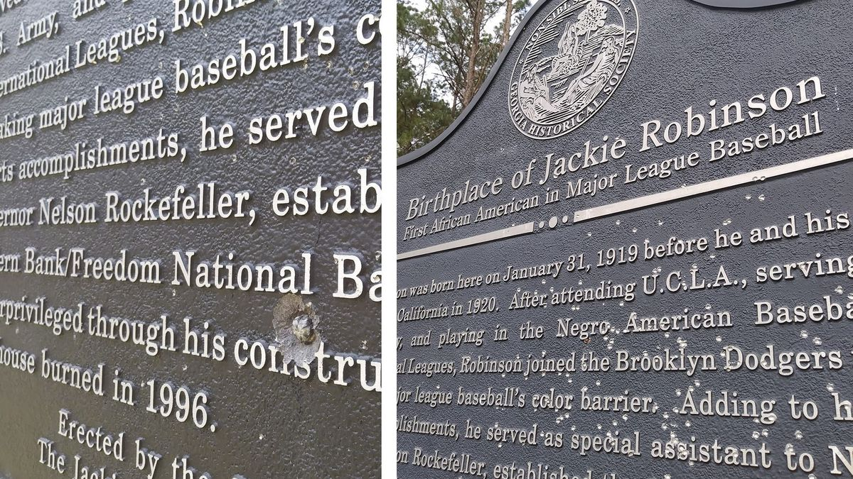The Georgia Historical Society says a historical marker recognizing the birthplace of Jackie...
