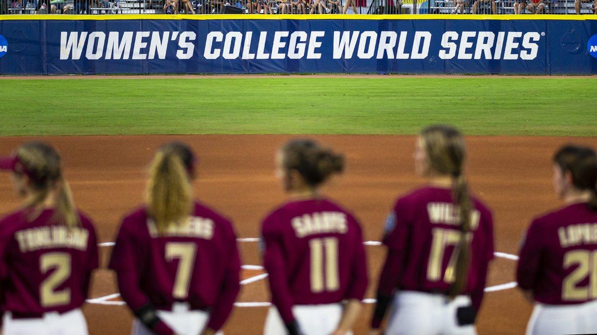 FSU softball Women's College World Series 2021