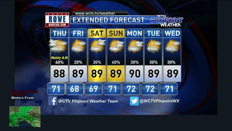 Mike's Wednesday Evening Forecast: September 8, 2021