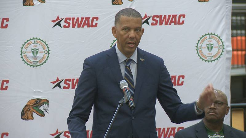 SWAC Commissioner Dr. Charles McClelland was on hand for a Thursday morning press conference at...