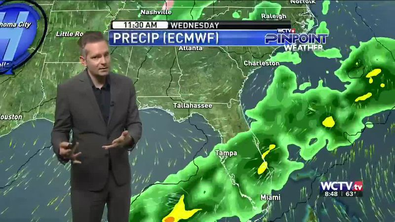 The rain was back Sunday morning, but will there be a break during the work week? Meteorologist...
