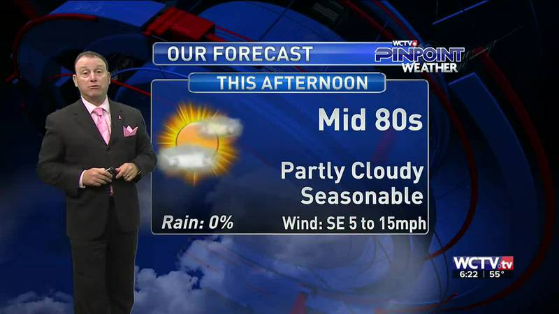 Meteorologist Rob Nucatola gives you the forecast for Wednesday, Oct. 20, 2021.