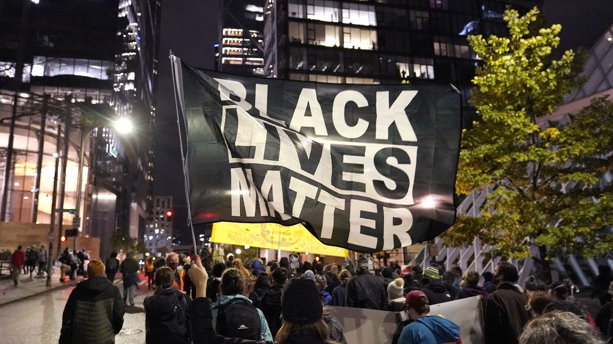 A financial snapshot shared exclusively with The Associated Press shows the Black Lives Matter...