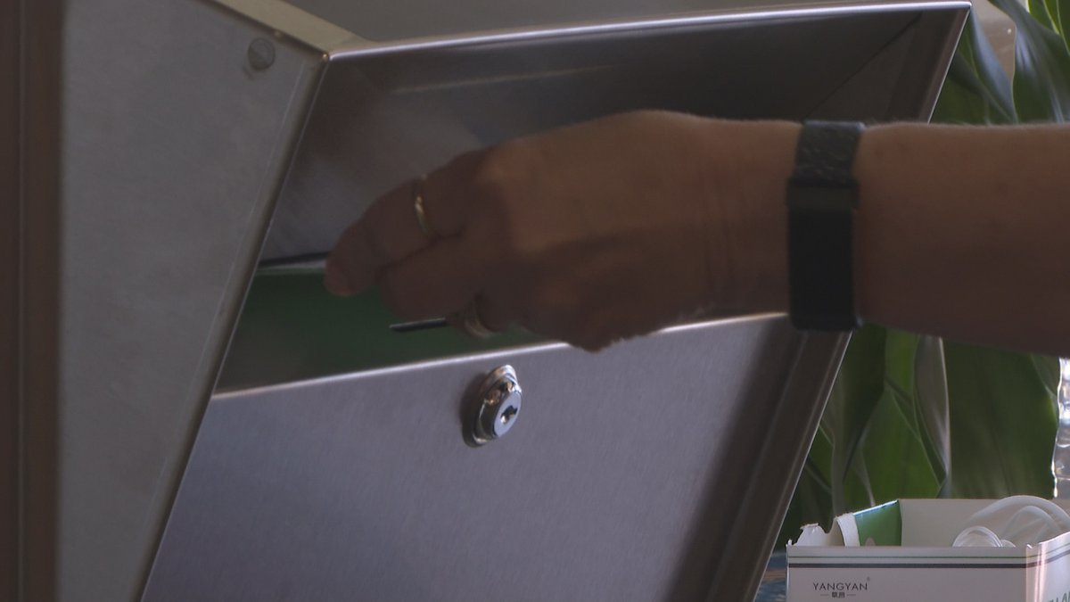 Leon County voters use new drop boxes to cast mail in ballots early