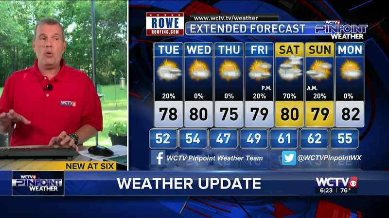 Chief Meteorologist Mike McCall takes a look at your forecast for the evening of Monday, April...
