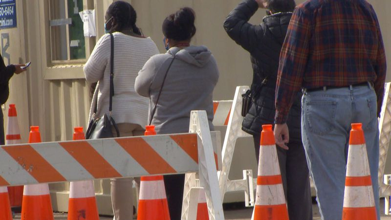 Officials at Florida A&M say they had a surge in people coming to get tested before the...