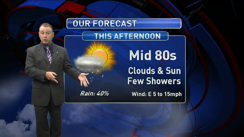 Meteorologist Rob Nucatola gives you the forecast for Tuesday, Oct. 27, 2020.