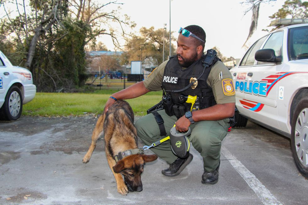 As K-9 Axil's handler, it is customary for the two to share a home outside of work. According...
