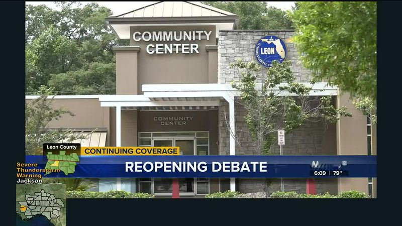 The Leon County Commission voted to move to a full re-open during Tuesday night's meeting....