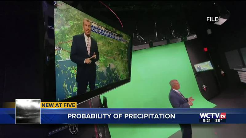 What does it mean when a meteorologist tells someone there is a 40% chance of rain?...