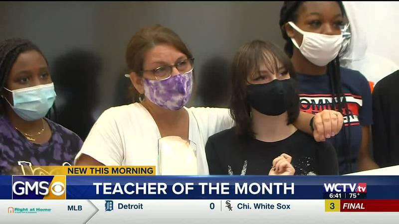 Faith Kirn, an English teacher at Leon High School, has been selected as WCTV's Teacher of the...