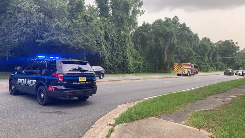The Tallahassee Police Department and Tallahassee Fire Department are on the scene of a traffic...