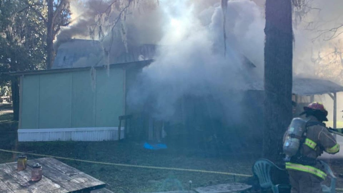 Suwannee Fire and Rescue says due to a structure fire in Live Oak, part of Duval Street is...