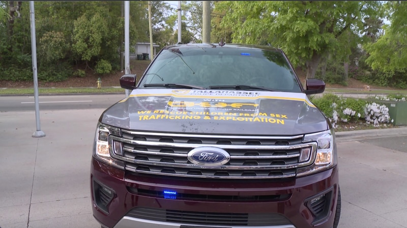 The Tallahassee Police Department is showing off a brand new set of wheels.