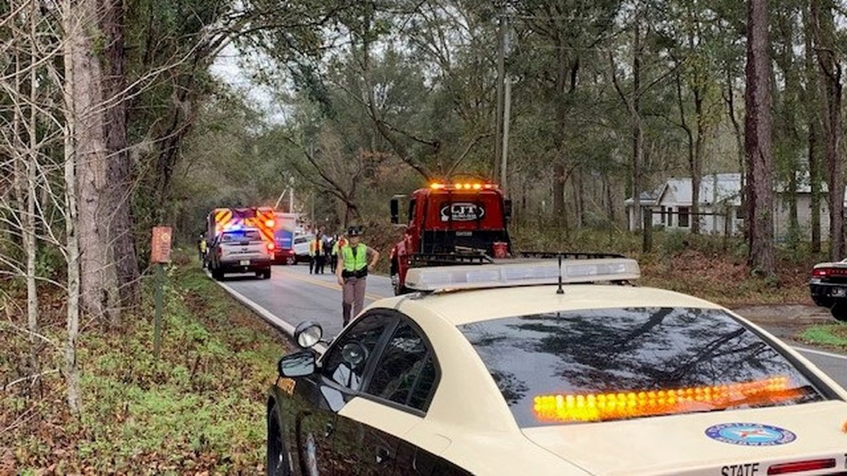 A multi-vehicle crash on Old Bainbridge Road is forcing traffic to turn around about two miles...