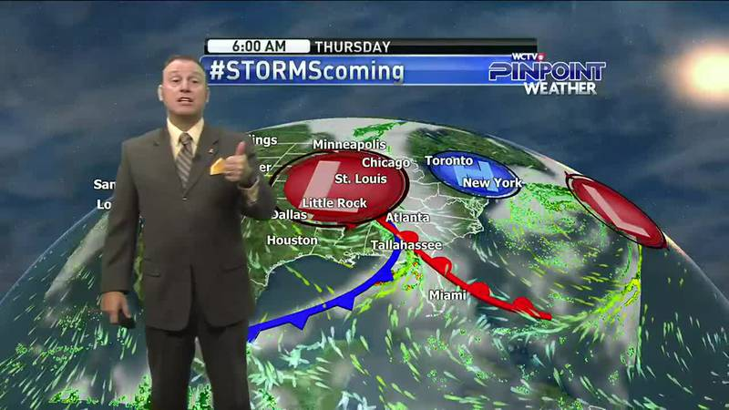 Meteorologist Rob Nucatola gives you the forecast for Monday, Oct. 26, 2021.