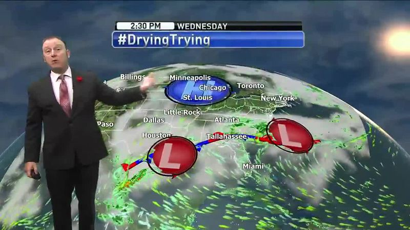 Meteorologist Rob Nucatola gives you the forecast for Wednesday, May 12, 2021.