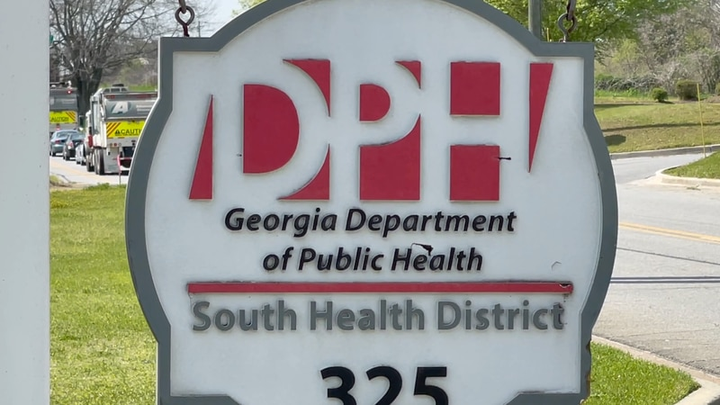South Health District sign.