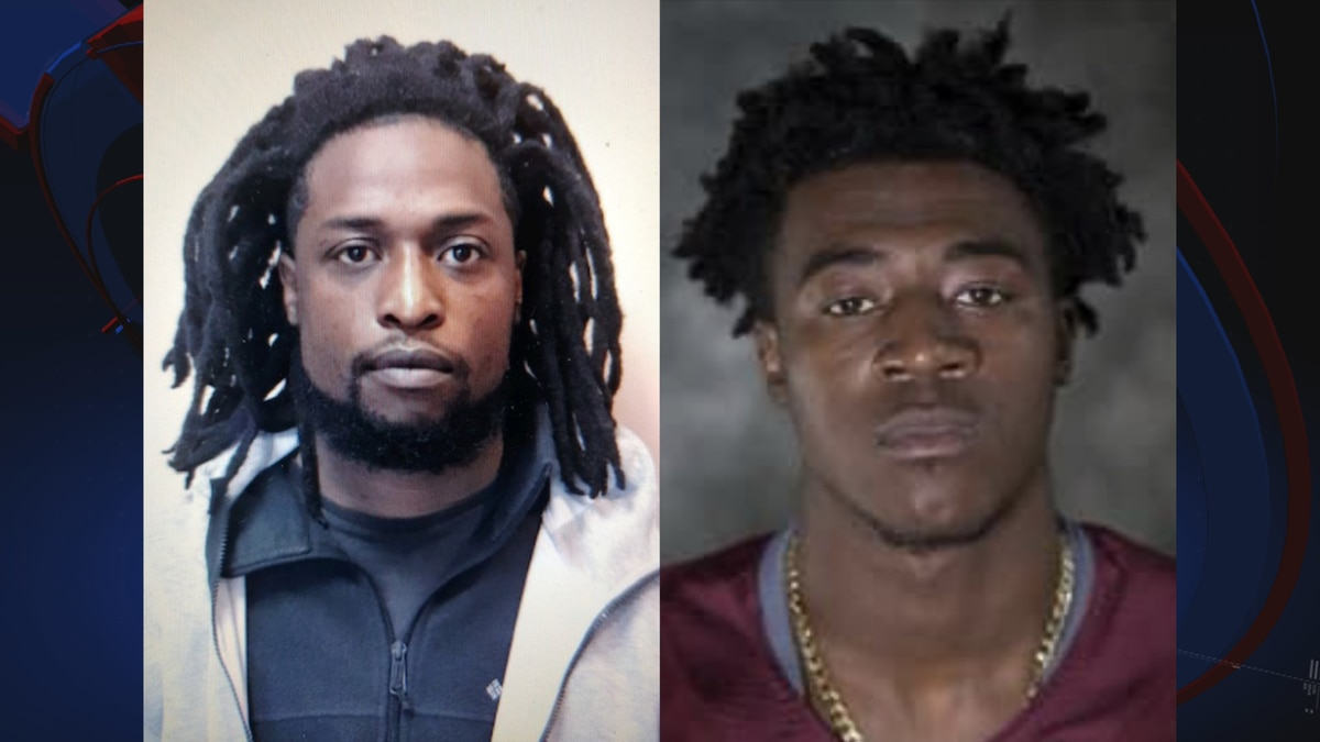 Marquis Brown and Sammy Carter Jr. have been taken into custody after stealing 10K grams of...