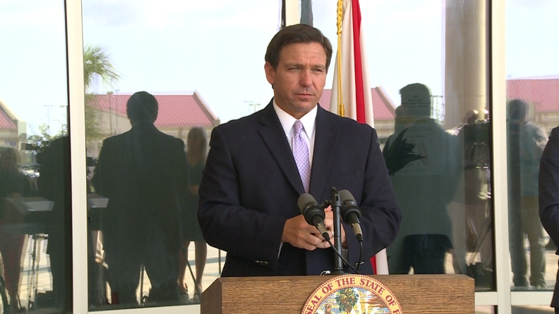 """Facts versus smears"" was the theme of Governor Ron DeSantis' press conference Wednesday."