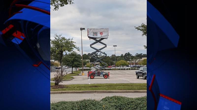 Reaching new heights to rescue Christmas: The Salvation Army of Tallahassee is taking this...