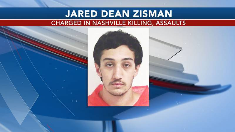 Jared Zisman was charged in connection to a weekend killing and assaults that happened in...