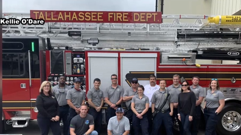 Kellie O'Dare traveled with Tallahassee's Task Force 7, who is assisting and searching for...