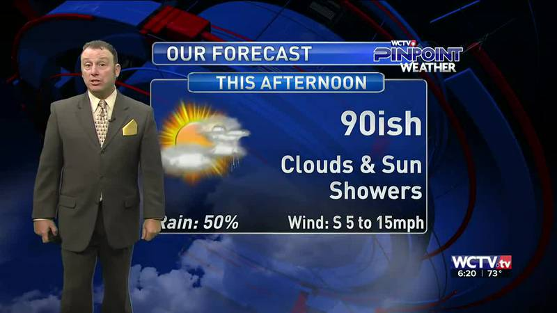 Meteorologist Rob Nucatola gives you the forecast for Tuesday, Sept. 7, 2021.