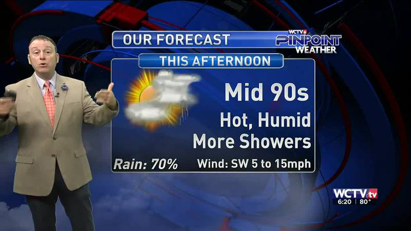 Meteorologist Rob Nucatola gives you the forecast for Tuesday, July 27, 2021.