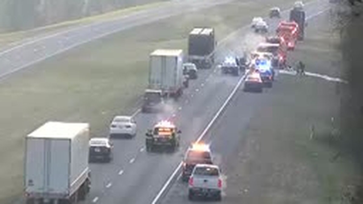 The Florida Highway Patrol says a vehicle on fire on I-10 east in Jefferson County is causing...