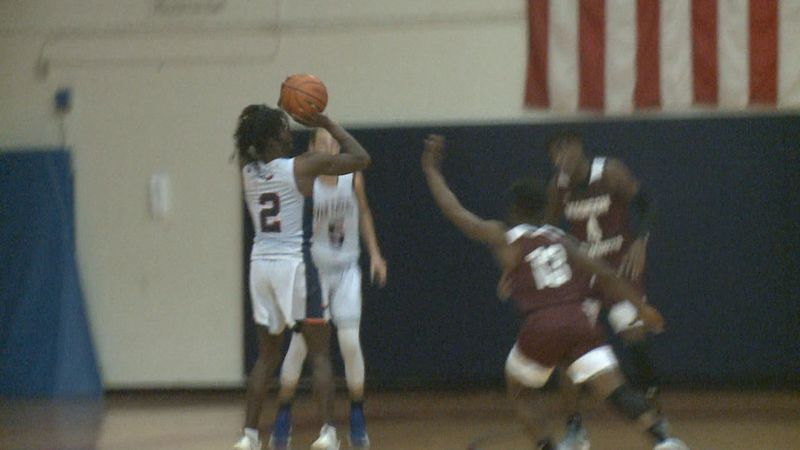 The Madison County Cowboys boys basketball team took down the Wakulla War Eagles, 53-43, Monday...