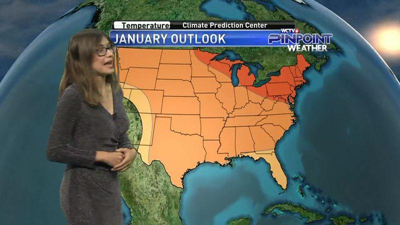Hannah's Sunday, January 3rd evening forecast