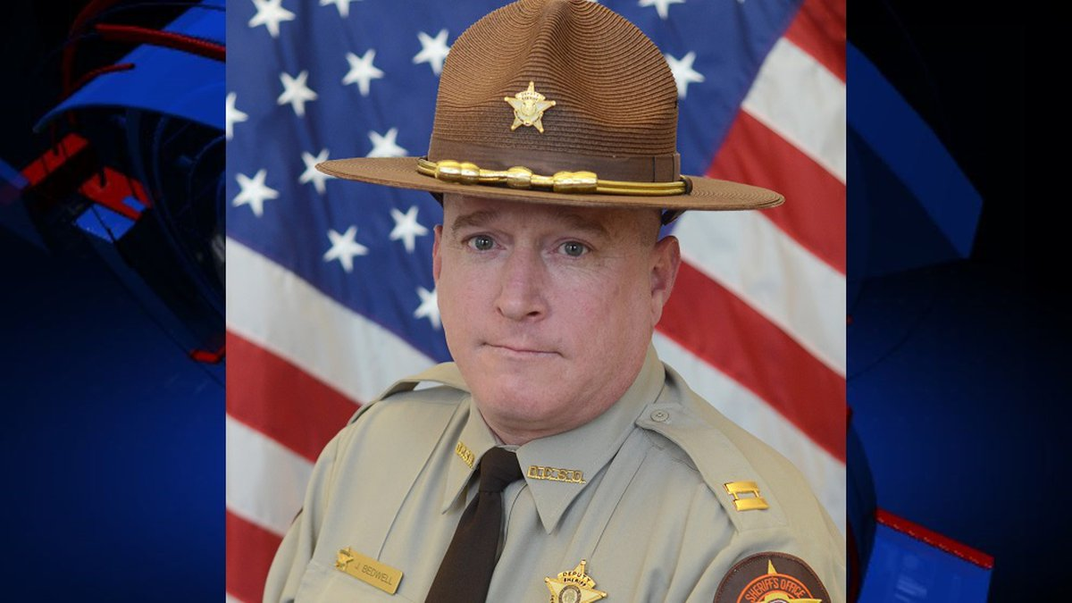 According to DCSO Sheriff Wiley Griffin, Lieutenant Justin Bedwell died after he was taken to...