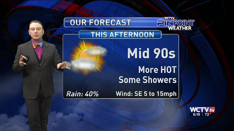 Meteorologist Rob Nucatola gives you the forecast for Friday, July 16, 2021.